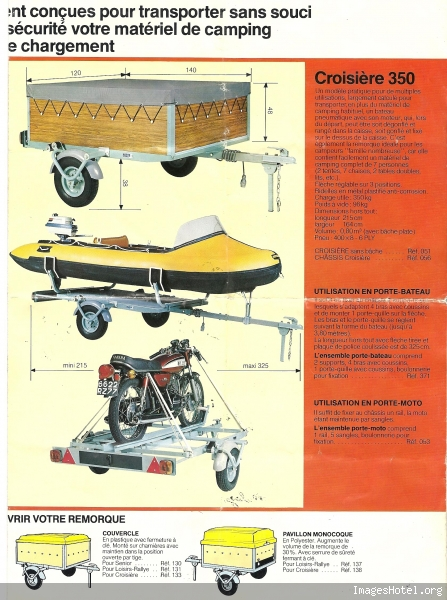 remorque erka croisiere 350 et erka rallye type 57 page 1 le mat riel de camping a n n e x e. Black Bedroom Furniture Sets. Home Design Ideas